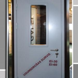 Kapņu un tehnisko telpu durvis