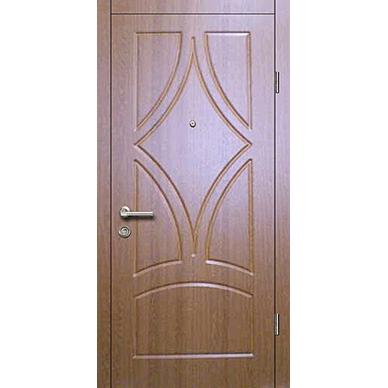 Metala durvis ar apdare MDF